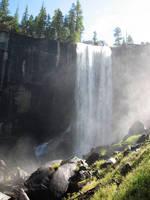 Free Stock Vernal Falls by tursiart