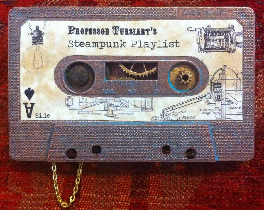 My Steampunk Playlist by tursiart