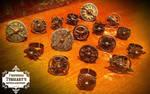 Steampunk Spinny Gear Rings 2