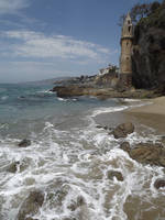 Free Unrestricted Stock Beach Castle 2 by tursiart