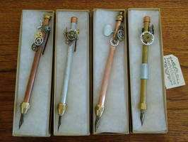 Steampunk Dip Pens for SDCC Art Show