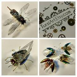 Clockwork Bugs