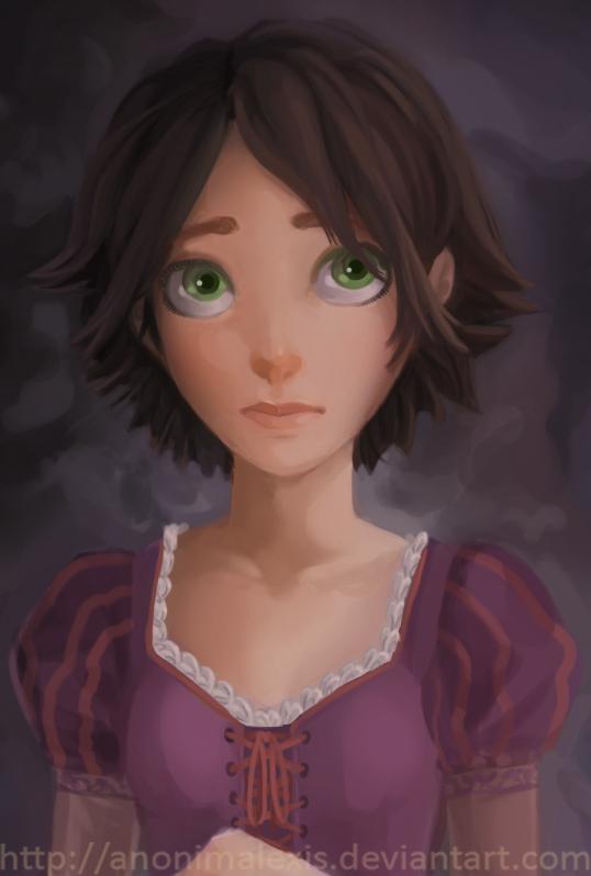 Rapunzel. by AnonimAlexis