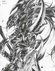 Black Luster Soldier by ZeroEdgeArt