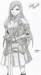 Erza Scarlet by ZeroEdgeArt