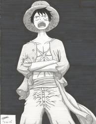 Monkey D. Luffy by ZeroEdgeArt