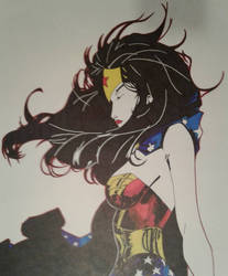Wonder Woman by ZeroEdgeArt