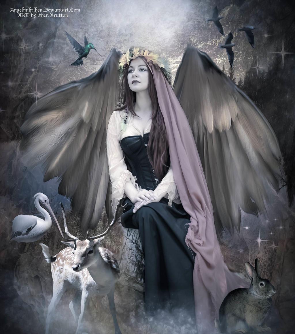 Sacred Spirits by Angelmihrlhen