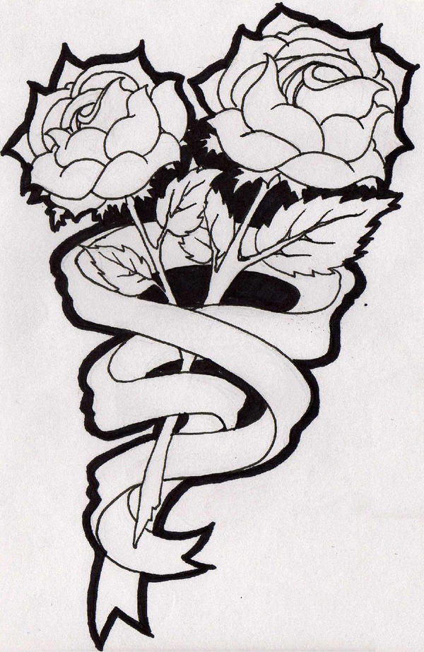 Roses and Ribbons by nursejuggernaut on DeviantArt  Roses and Ribbo...