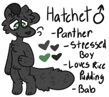 Hatchet Ref 2017 by GeekyMuffin4Life