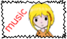 Music's Stamp by Musicallychalanged