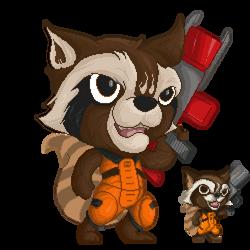 Rocket Raccoon HD