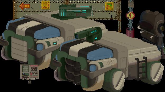 Outland Trucks PixelArt