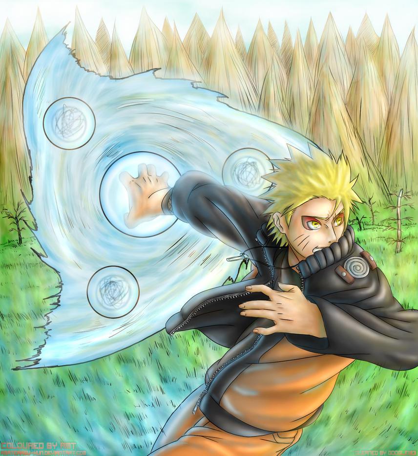 Naruto: Ultimate RasenShuriken by Amaterasu-kun
