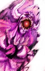 Bleach: - Ichigo new Hollow - by Amaterasu-kun