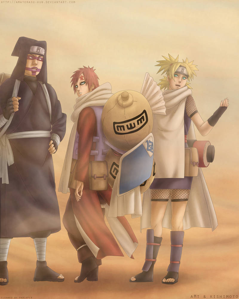 Naruto: Gaara's is Back