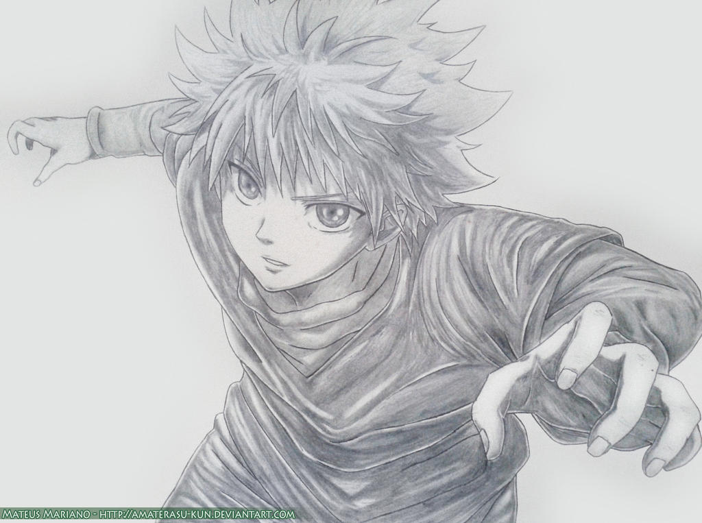 Killua - HunterxHunter by Amaterasu-kun