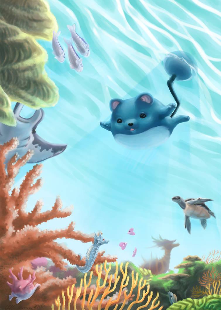 Pokemon - Dive