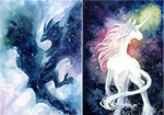Nebulawing And Galacticorn