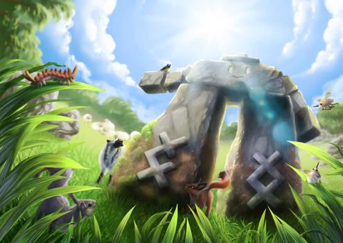Pokemon - Galar pastures