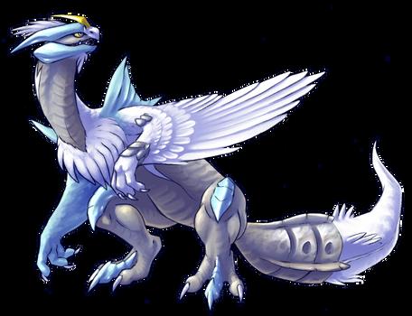 Pokemon - GottaDrawEmAll Gen5 collab: White Kyurem