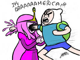 It's AaaaMerica Time by Garabatoz