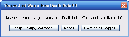 If Death Note went Cyber...