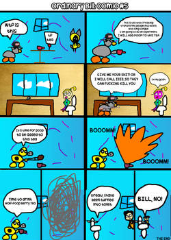 Ordinary Bill Comic #5 Wolf-Poop Tea