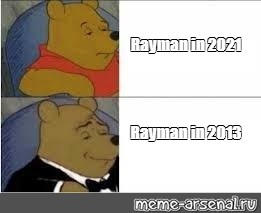 Rayman in 2021 VS Rayman in 2013