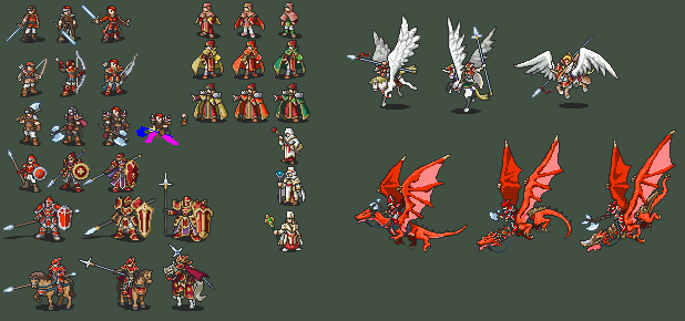 FE 10 Full Class Line Progress Preview by Iscaneus