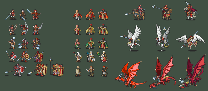 FE 10 Full Class Line (Generics) by Iscaneus