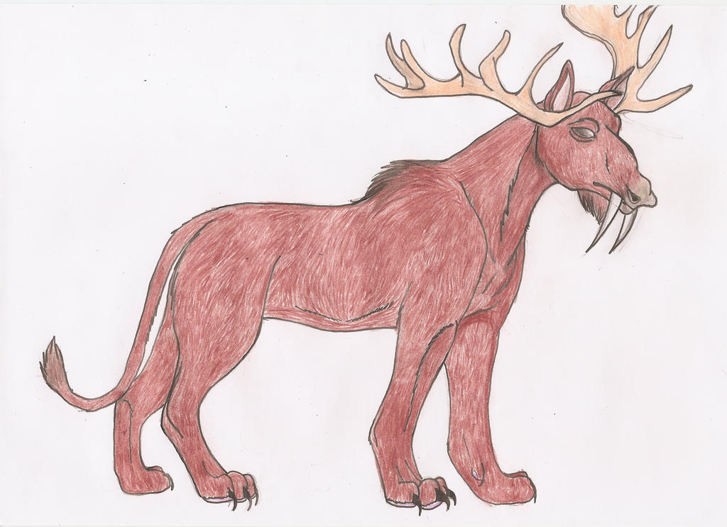 Avatar animals-Saber-toothed moose lion by Judilin on ...