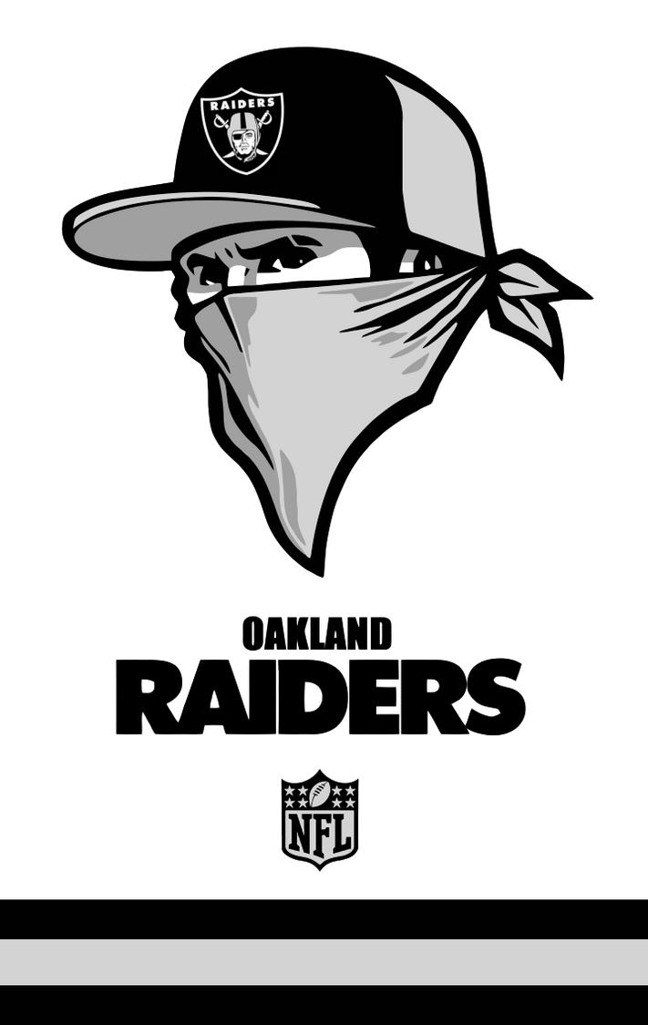 oakland raiders concept logo by sportsworth on deviantart