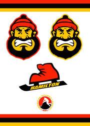 Hamilton Canucks Concept Logo by Sportsworth