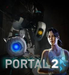 Portal 2 Poster by Bubblysprite3