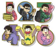 Matsuno Bros. by kouno-B