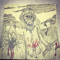 Drawlloween - Scarecrow by warwolf1976