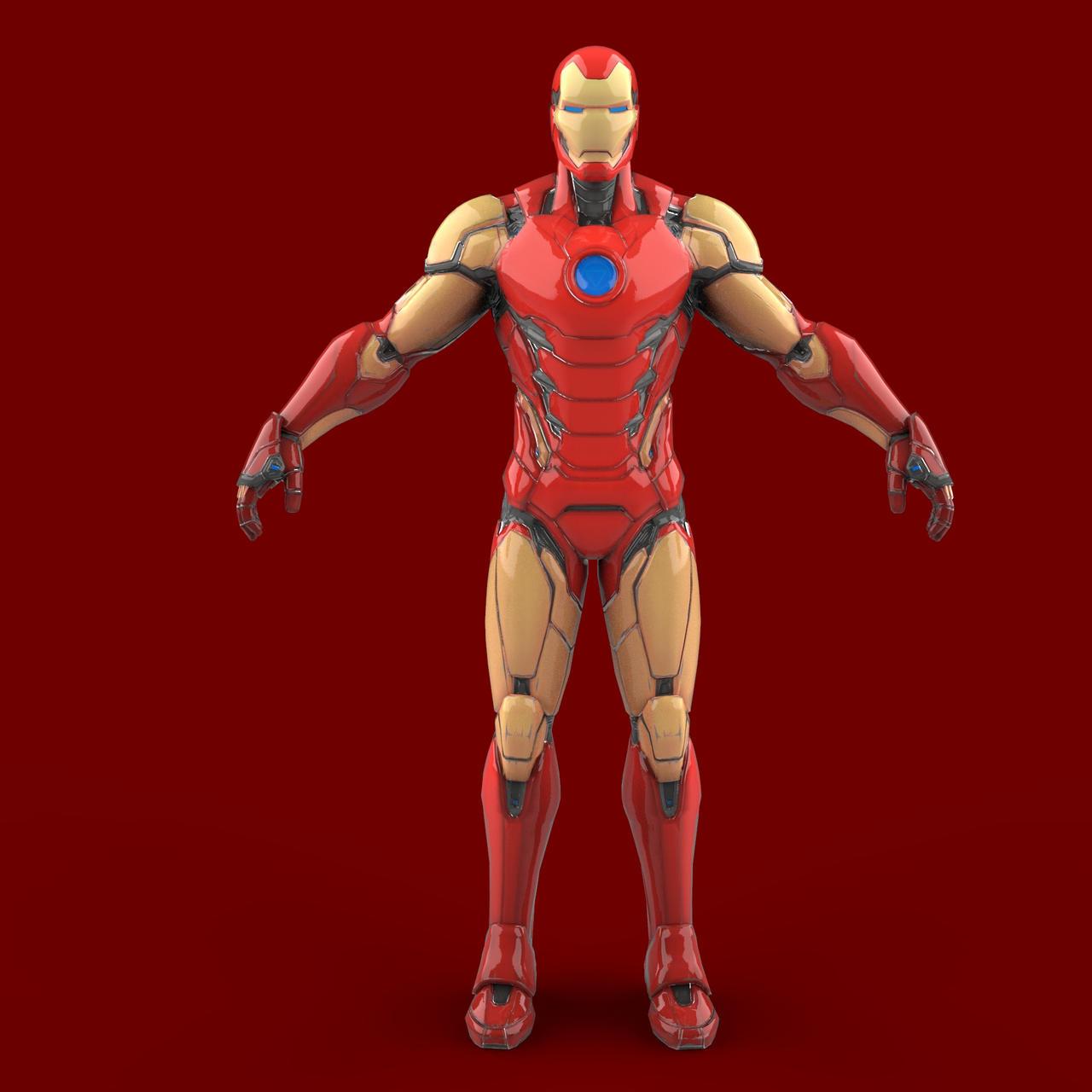 Fortnite Iron Man Armor Pepakura Eva Foam Template By Evafoammaster On Deviantart Max iron man skin gameplay in fortnite gameplay featuring : fortnite iron man armor pepakura eva