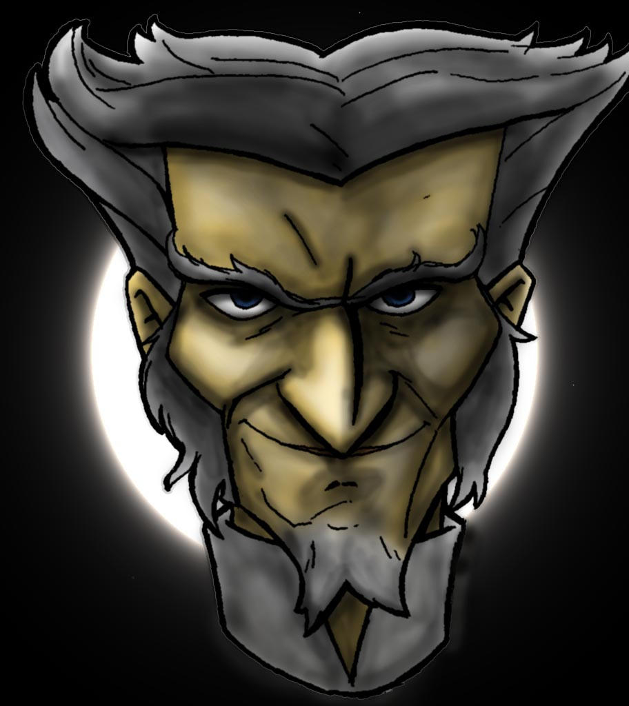 Count Olaf headshot by Eric--Draven on DeviantArt