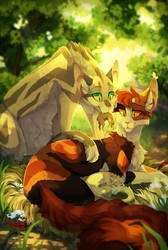 Peaceful Afternoon [Runningwind/Redtail OLD] by LttleGhost