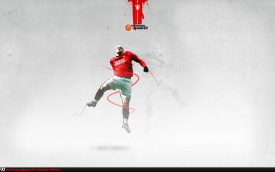 71. Wayne Rooney by J1897