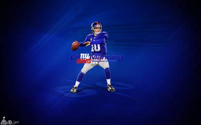 134. Eli Manning by J1897