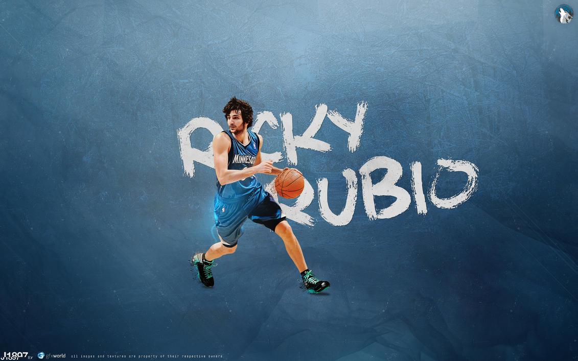 163. Ricky Rubio by J1897