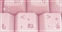 pink keys. -f2u by kittoko
