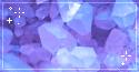 blue crystals. -f2u