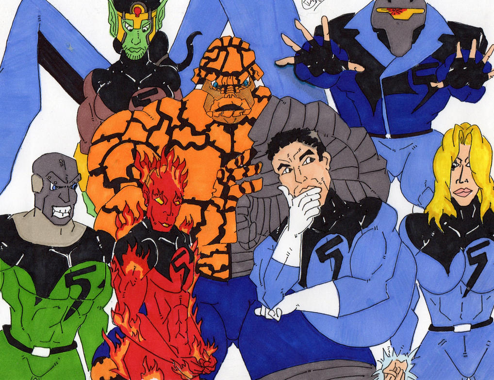 Fantastic Five Earth 982 (request) by Vaughn787