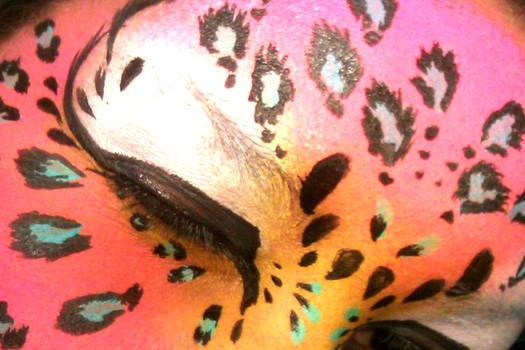 leopard face