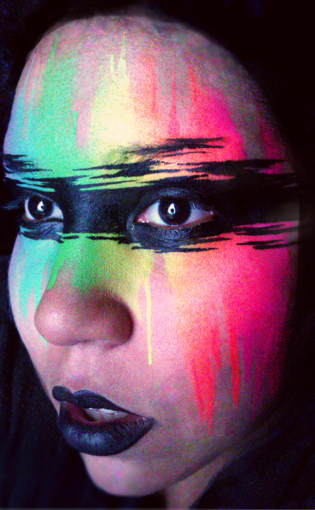 the rainbow Bandit by ARTSIE-FARTSIE-PAINT