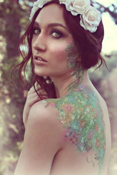 flowers in the forest by ARTSIE-FARTSIE-PAINT