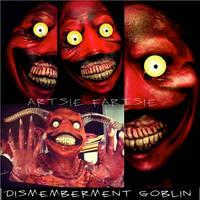 dismemberment goblin by ARTSIE-FARTSIE-PAINT